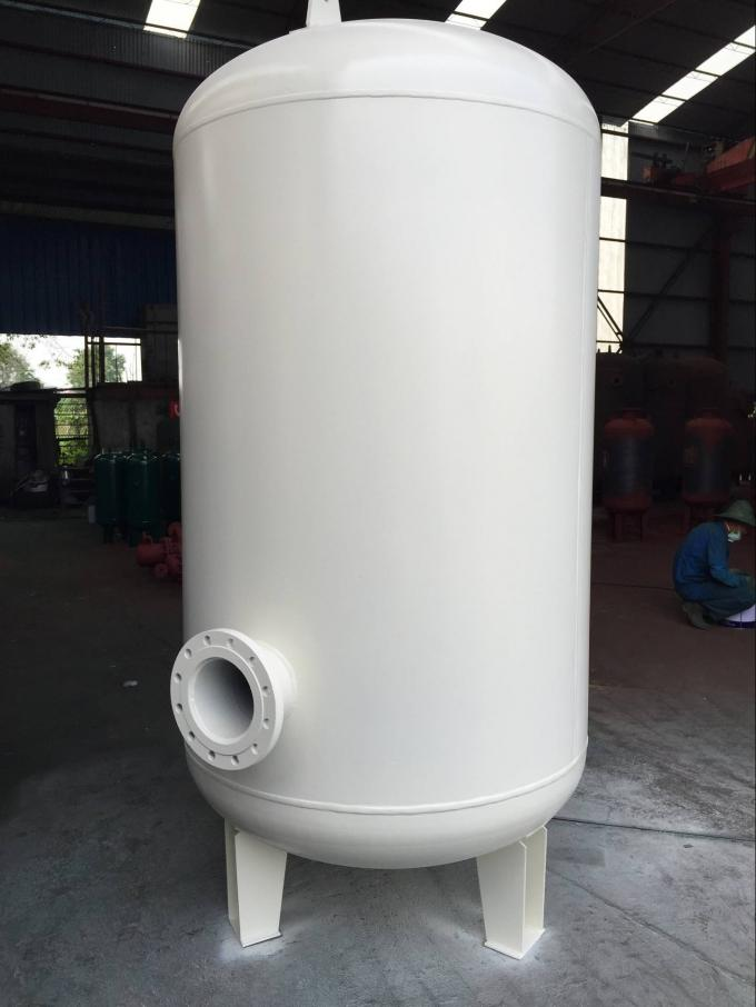 Custom Vertical Vacuum Receiver Tank Stainless Steel