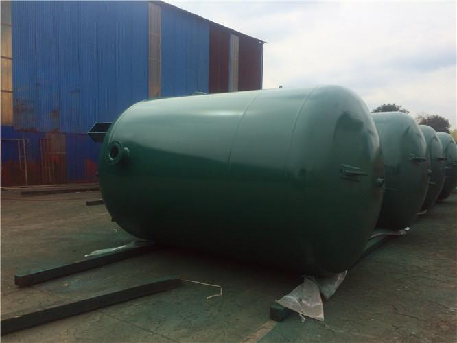 Carbon Steel Natural Gas Storage Tank With Section Design 5000L 145psi Pressure