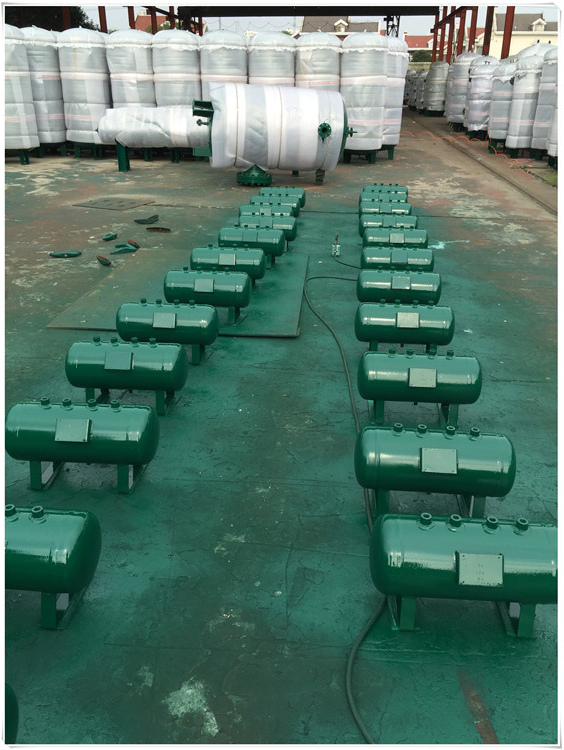 1100 Gallon Underground Oil Storage Tanks With Legs For Petrochemical Industry