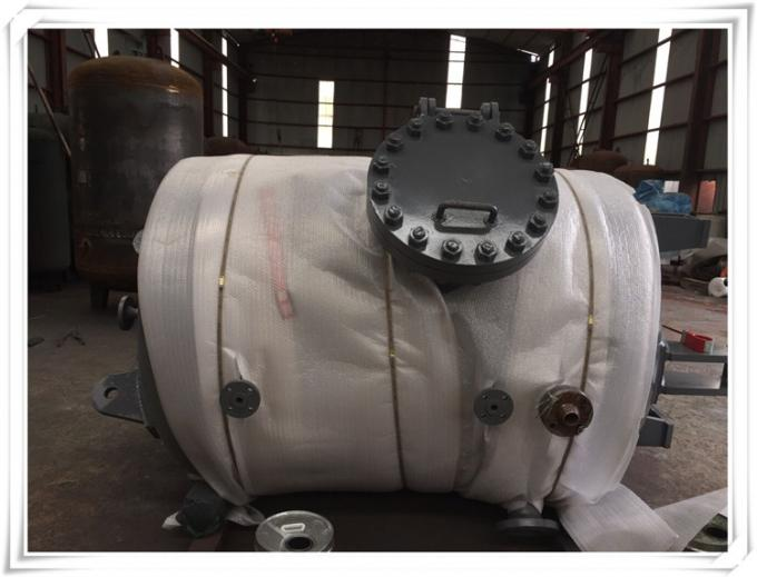 3.0 Mpa Screw Air Compressor And Receiver Tank For Truck Vertical Orientation