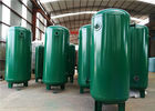 China Carbon Steel Air Compressor Receiver Tank For Oxygen / Nitrogen Storing factory