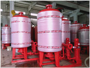 China Stainless Steel 304 / 316 Diaphragm Water System Pressure Tank With Polishing Treatment company