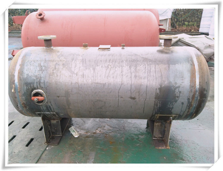3000 Liter Stainless Steel Air Receiver Tank , Pneumatic Compressed Air Reservoir Tank