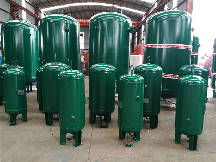 400 Gallon Vertical Industrial Compressed Air Receiver Tanks