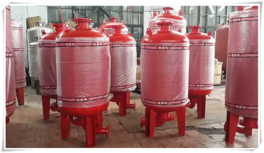 China Carbon Steel Diaphragm Pressure Tank Pressure Vessel For Water Booster Pump Station factory