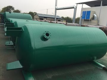 Carbon Steel Verticial Underground Oil Storage Tanks High Pressure Vessel