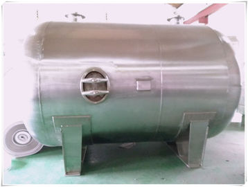 Stainless Steel Underground Oil Storage Tanks 5000 Liters Big Volume Horizontal