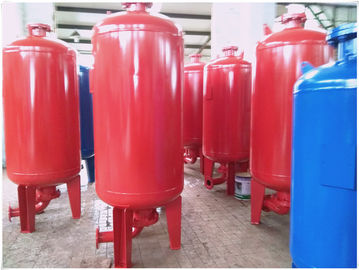 China Horizontal Orientation Diaphragm Pressure Tank For Water Supply Equipment factory